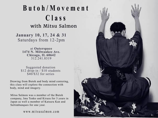 Mitsu Salmon Saturday Butoh Class